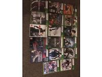 XBOX 360 with Kinect, controllers & 17 games