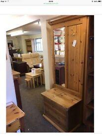 Pine Hall Stand / Storage Box
