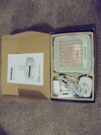 NEW IN BOX GOODMANS CLOCK RADIO WITH iPOD DOCKING STATION