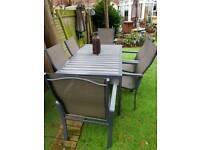 Selling garden furniture