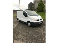2007 traffic 11 mths Psv 6 speed company own van good driver no faults take small trade in