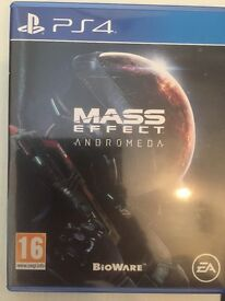Selling Mass Effect - Andromeda PS4