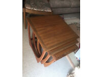 G Plan Nest of 3 Coffee Tables