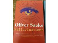Two Oliver Sacks books: The Man who Mistook his Wife for a Hat & Hallucinations
