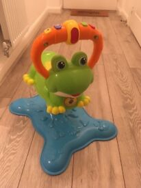 Vtech interactive bouncing frog