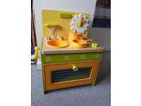 DJECO wooden cooker set plus accessories