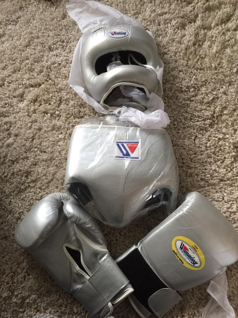 WINNING full boxing set, groin, head and glices