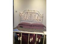 Like New IKEA Double Bed- with matress.