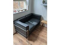 LC2 sofa replica 2 seater