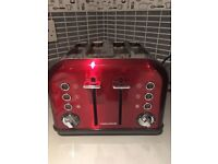 Morphy Richard 4 slice toaster