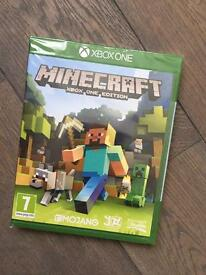 Brand new sealed Minecraft for XBox 1