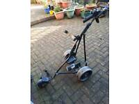 Power caddie golf trolly and accessories