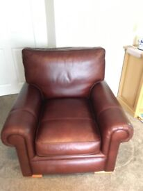Leather Armchair - Perfect Condition