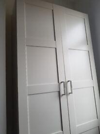 IKEA 2 door wardrobe in good condition