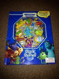 Monsters stuck on stories book x
