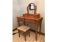 Dressing table and chair - £40