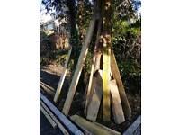 Firewood, surplus new timber various sizes