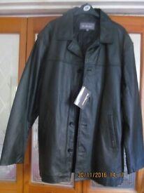 Ben Sherman Leather Jacket XL