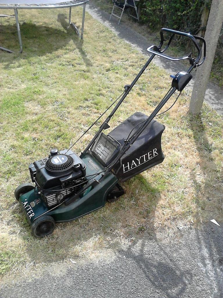 hayter harrier  petrol  propelled lawnmower  slough berkshire gumtree