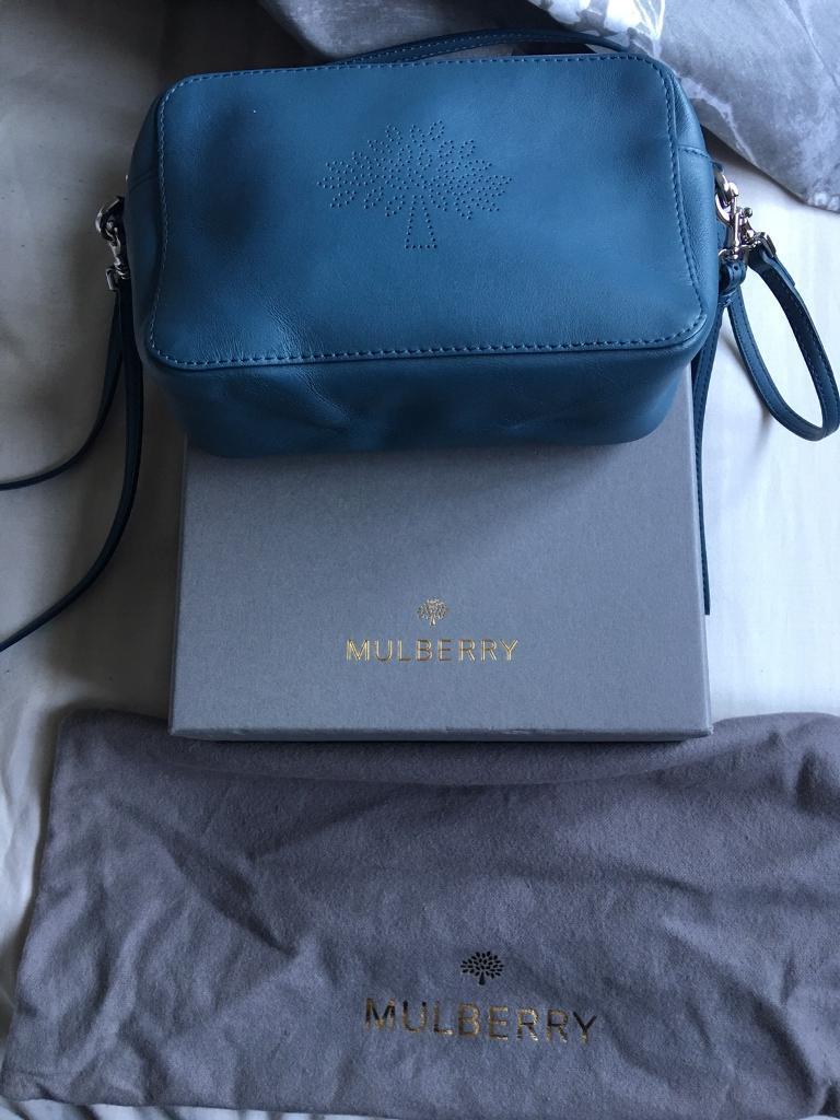 fa338da747 ... france mulberry blossom pochette bag steel blue 3c001 dd35f