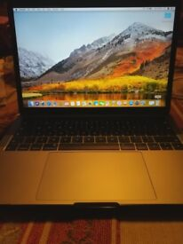 MacBook Pro Touch Bar (13-inch, 2017, Four Thunderbolt 3 Ports)