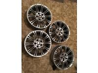 "BMW MV2 Alloy Wheels * 18"" staggered E36 E46"
