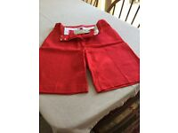 Marks & Spencer - Peruna Red ladies shorts.