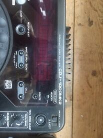 2 X CDJ 1000 MK2 in perfect working condition. Very little use.
