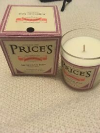 Prices Moroccan rose brand new boxes candle