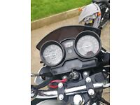 Yamaha YBR 125 White