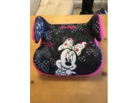 Brand New Minnie Mouse 2-3 Years Booster Seat