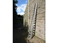 YOUNGMAN TRADE 350 DOUBLE SECTION 6m ALUMINIUM EXTENSION LADDER