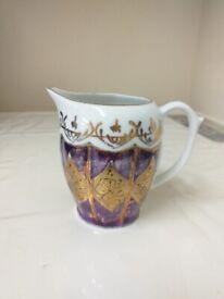 Milk pot oriental design
