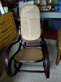 Rocking chair +other items