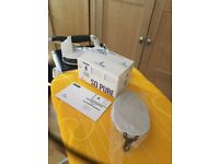 SUPER BEST AND BARGAIN LAURASTAR IRONING AND STEAMING STATION PLUS ONE ACCESSORIE AND SALT FREE A