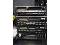 Old car radios. Ford.Vw. Subaru
