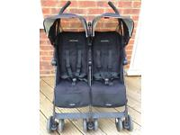Maclaren twin techno buggy/stroller