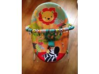 Baby Bouncer Zoo Print