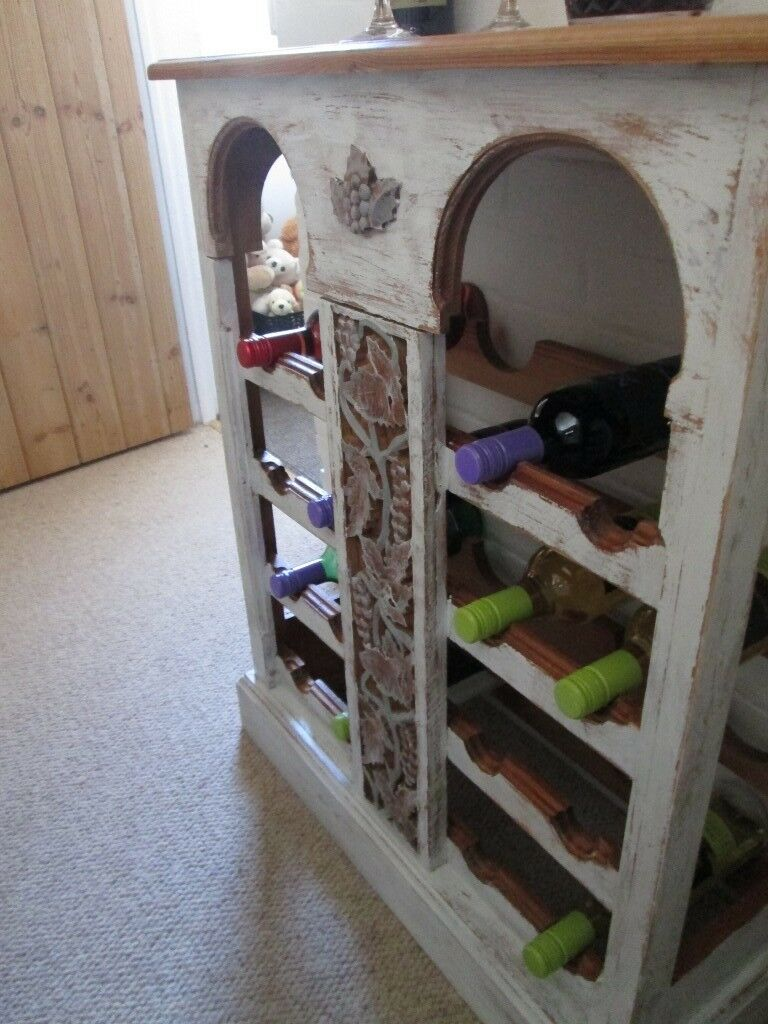 Shabby Chic Wine Rack