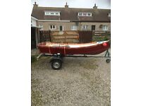 12ft boat and trailer for sale