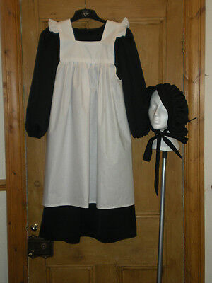 QUALITY VICTORIAN SCHOOL GIRL FANCY DRESS COSTUME VARIOUS SIZES / COLOURS  - Quality Fancy Dress Costumes