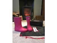 Hunter girls welly boots - Size 11