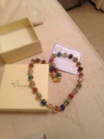 Maruno glass bead necklace