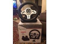 For sale Gaming steering Wheel