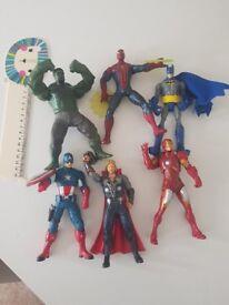 Super hero figures