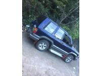 Isuzu trooper 3.1D swb