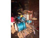 Mapex drum kit ideal for beginner