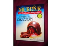 Murder Mystery Game. Inspector McClue Death by Chocolate