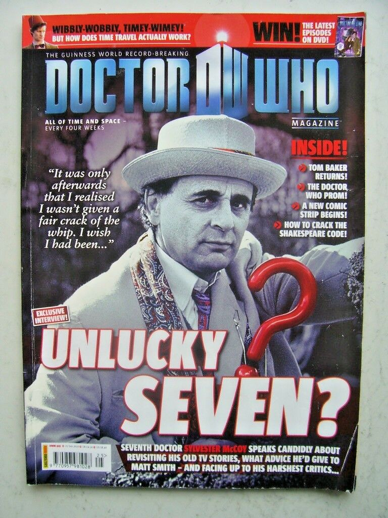 Doctor Who Magazine issue 425 Unlucky Seven!