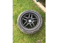 BMW clubsport wheels 9j 235 45 17